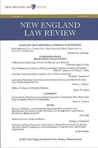 new-england-law-review-volume-51-number-1-winter-2017-english-edition