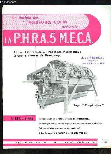 1 brochure publicitaire de la \