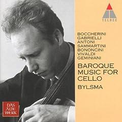 Boccherini : Cello Sonata No.7 in B flat major G8 : III Larghetto - Allegro - Larghetto