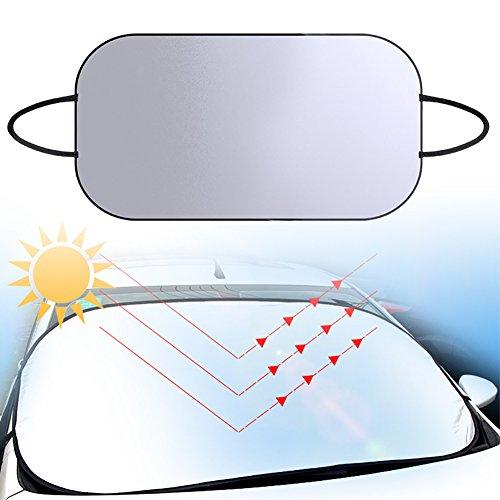 lennonsi-Auto-Scheib-piano-di-frontscheibenabdeckung-protezione-solare-parabrezza-auto-parabrezza-protezione-solare-protezione-UV-copertura-parasole-parabrezza-frostabdeckung-Argento-80140-cm