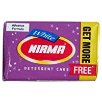 Nirma White Cake - 155 g with 5 g Free (pack of 20)