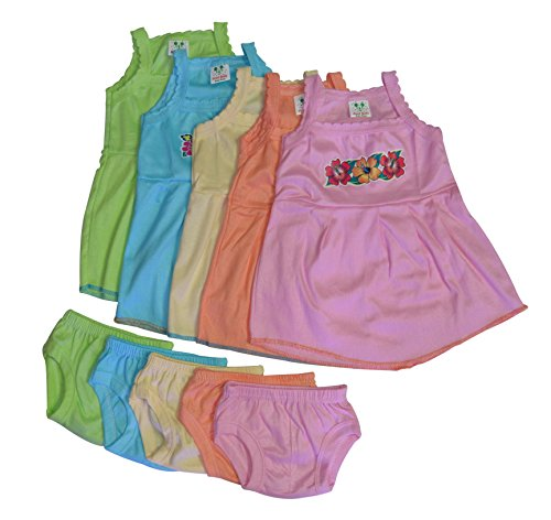 5 Frock And Matching Shorts for Kids
