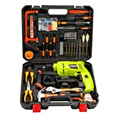 Werkzeugkasten Haushalt Schlagbohrmaschine Toolbox Set Multifunktionsinspektor Elektriker Reparatur Holzbearbeitung Hardware Tool Set