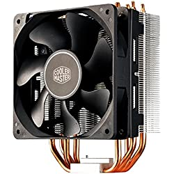 Cooler Master Hyper 212X - Ventiladores de CPU '4 Heatpipes, 1x Ventilador PWM de 120mm, 4-Pin Connector' RR-212X-17PK-R1