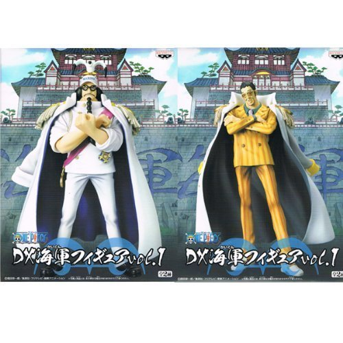 One Piece DX Navy Figure vol.1 ONE PIECE prize Banpresto (all two full set of Sengoku and yellow monkey) (japan import)