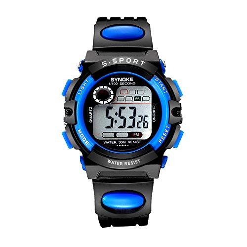 Orologi bimbo/Primarie impermeabile luminosi orologi/Sport orologio digitale-G