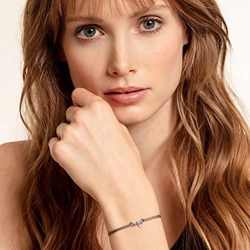 Thomas Sabo Damen-Armband Little Secret Libelle 925er Sterlingsilber geschwärzt LS073-298-7-L20v