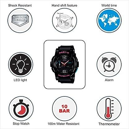 Casio Baby-G Analog-Digital Black Dial Women's Watch – BGA-180-1BDR (BX028)
