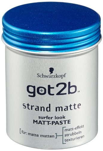 got2b Strand Matte Matt-Paste, 6er Pack (6 x 100 ml) -