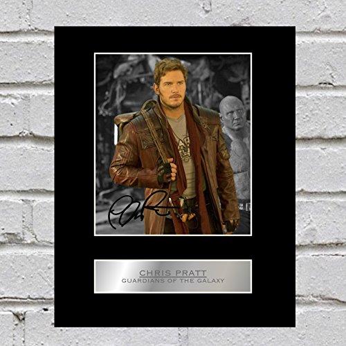 Pantalla de fotos de Chris Pratt Guardianes de la Galaxy