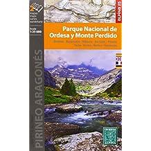Parque Nacional de Ordesa y Monte Perdido. 2 mapas. Escala 1:25.000. Ordesa, Bujaruelo, Añisclo, Escuáin, Pineta, Torla, Broto, Bielsa, Gavarnie. Español, Français, English, Deutsch