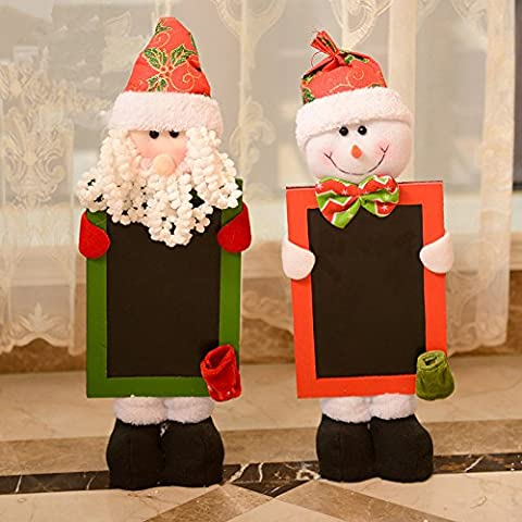 Porte di lavagna appendere decorazione di Natale decorazione di Natale Babbo Natale decorazione decorazione ghirlanda Natale decorazione di natale ornamento di Natale,Babbo Natale