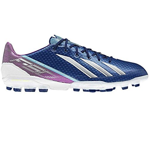 adidas Performance adizero F50 TRX AG, Scarpe da calcio uomo blu / bianco / viola 6.5 UK - 40.0 EU - blu / bianco / viola