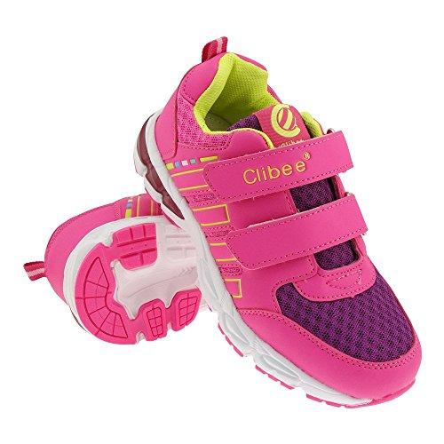 GALLUX - Kinder Sneaker Schuhe Jungen Mädchen Pink