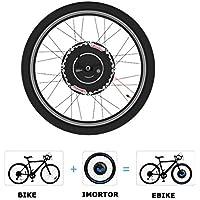 iMortor ELECYCLES 2.0 24V350W Kit de Conversión de Bicicleta electrónica Todo en uno (Freno de