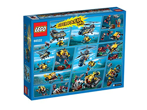 Lego-66522-City-Superpack-4in1-Set-Lego-60090600916009260093