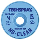 Techspray No-Clean Entlötlitze, 2,5 mm, 3,0 m, blau