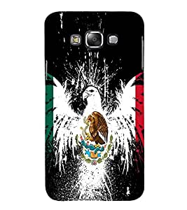 Vizagbeats Eagle and snake Back Case Cover for Samsung Galaxy E7 E700F