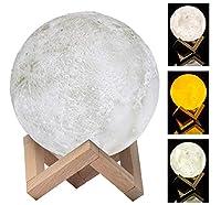 "Amigo Moon Lamp - Your Night Light - 17 cm (6.5"") LED, Touch Control by Amigo"