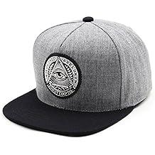 Unisex gorra de béisbol algodón mezclado motocicleta Gorras de béisbol gorra de Trucker sombrero de Snapback Hat Illuminati… fIjCacFt