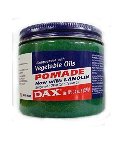 DAX Pomade with Vegetable Oils/cheveux Pomade original des États-Unis 397 g