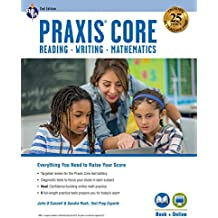 Praxis Core Academic Skills for Educators + Online Access Card: Reading, Writing, Mathematics (Praxis Teacher Certification Test Prep)