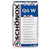 Fliesenkleber Schönox Q6 W (Weiß) Universalkleber | zur Verlegung im Dünn-, Mittel-, Dick- und Fließbettverfahren (25 Kg)