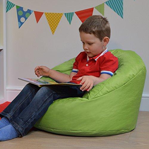 Bean Bag Bazaar Sitzsack für Kinder, fürn drinnen und draußen, lime, S