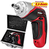Apollo 3.6V Cordless 1300 mAh Lithium-Ion Screwdriver & 102 Piece Tamperproof Mixed Screwdriver