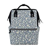 Best KAKA Backpacks For Kids - FAJRO Light Purple BaroqueTravel backpack canvas Handbag School Review