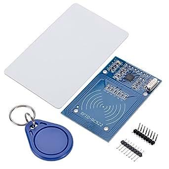 Keychain RC522 RFID Card Sensor Module to Send S50 Fudan Cards