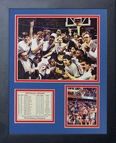 Legenden Sterben Nie 1988Kansas Jayhawks Collage Bilderrahmen, 27,9x 35,6cm