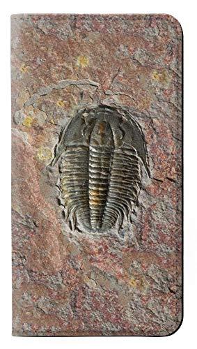 Innovedesire Trilobite Fossil Flip Hülle Tasche Klappetui für Huawei P20 Pro