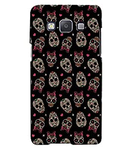 Citydreamz Skull/Skeleton/Horror/Dark/Fear/Scary/Ghost/Monster Hard Polycarbonate Designer Back Case Cover For Samsung Galaxy On5 Pro