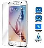 Protector de Pantalla para Samsung Galaxy S6 EDGE Cristal Vidrio Templado Premium, Electrónica Rey®