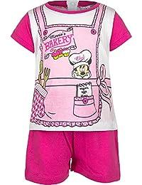 Minnie Mouse Kollektion 2017 Schlafanzug 62 68 74 80 86 92 Mädchen Shorty Pyjama Shortie Disney Neu Maus Fuchsia