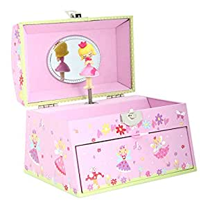Lucy locket portagioie musicale con carillon scatola - Carillon portagioie bambina ...
