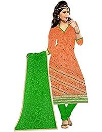 MAHI FASHION Women's Cotton Dress Material (MF21_Free Size_Multi-Coloured)