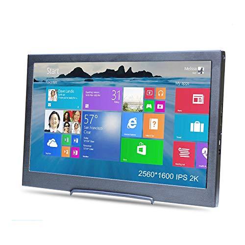 10 zoll Ultra HD 2K Tragbarer monitor doppelt HDMI und USB, Kenowa 2560*1600 Pixel IPS Bildschirm Unterstützung für raspberry pi 3 b+ PS3 PS4 Windows 7 8 10, car monitor, gaming monitor