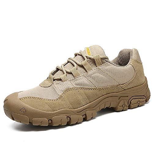 DYSY Im freien Männer Wanderschuhe Wasserdicht Atmungsaktiv Taktische Kampf Armee Stiefel Wüste Ausbildung Turnschuhe Anti-Slip Trekking Schuhe