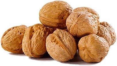 NatureVit Walnuts with Shell - 400 Grams | Whole Walnut | Sabut Walnut (Premium)