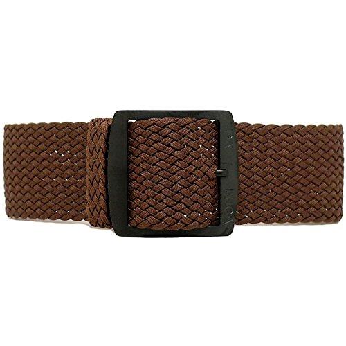 Da Luca, cinturino intrecciato per orologio da polso, in nylon Perlon, con...