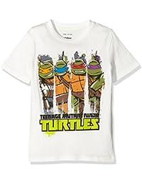 TEENAGE MUTANT NINJA TURTLES Boy's Paint Short Sleeve T-Shirt