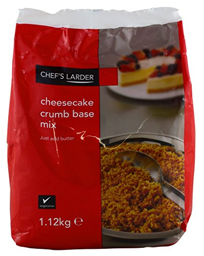Chef's Larder Cheesecake Crumb Base Mix - 1 x 1.12kg Test