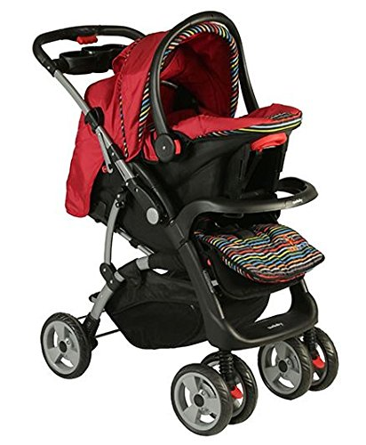 Sunbaby Devine Travel System (Red)