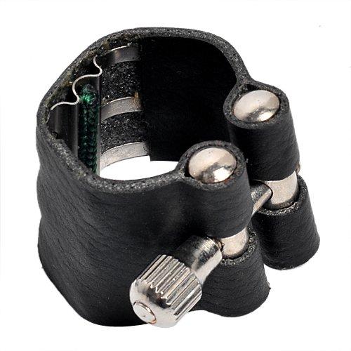 Alta calidad ligadura para BB clarinete boquilla cierre negro