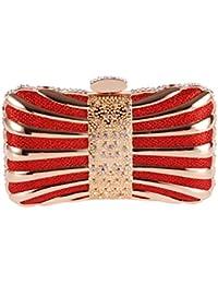 a2052df0d3 Ankoee Sac à Main Pochette Sac de Mariage Décoration de Métallique Sac  Soirée Pochettes Clutches Ceremonie