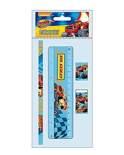 Blaze and The Monster Machines Set de papeleria 4 Piezas