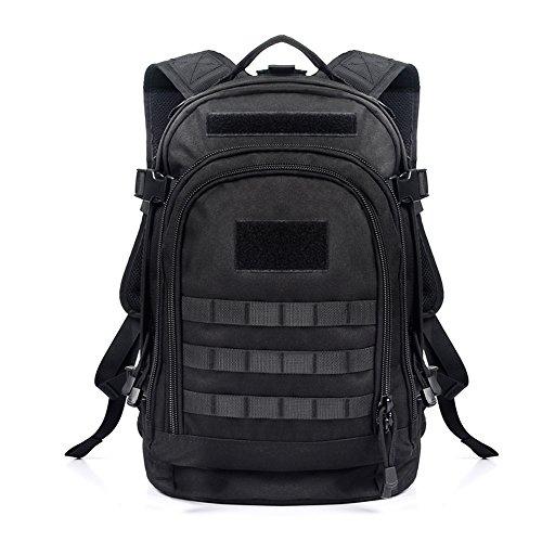 Imagen de yakeda® 600d  poliéster impermeable, impermeable  militar  táctica  a88051 negro