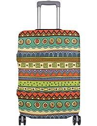 Preisvergleich für COOSUN Ethnischen Ornament Print-Reise-Gepäck Schutzabdeckungen Waschbar Spandex Gepäck Koffer Cover - Passend...